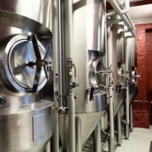 Beer fermentation system - fermentors for primary and secondary fermentation of beer