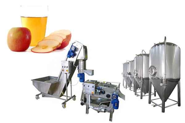 Cider - Profi production lines