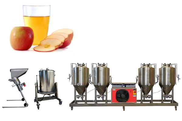 Cider - production lines Modulo
