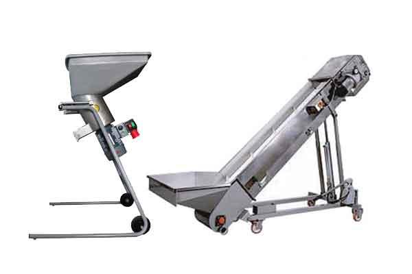 Fruit crushing equipment