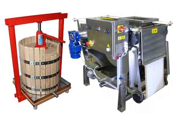 Fruit presses