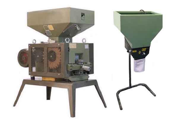 Stroje na mletí zrn