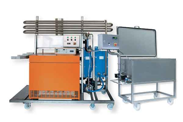 Cider pasteurization equipment