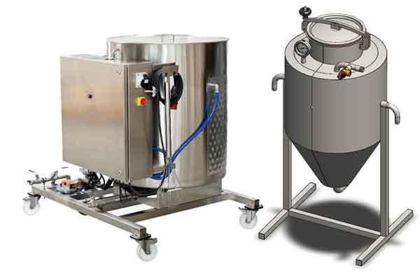 Yeast processing equipment