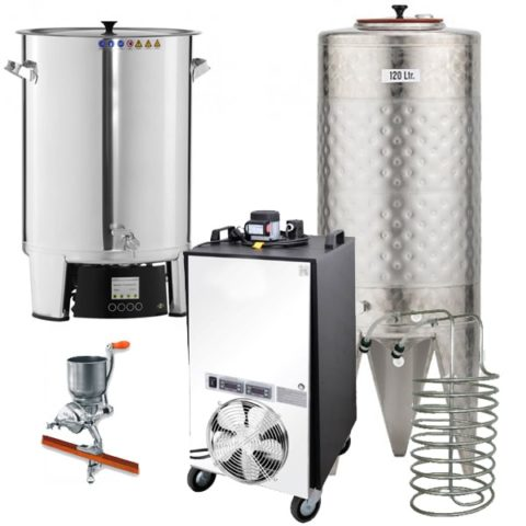 Breweries BREWMASTER 52 with fermenters 100 L