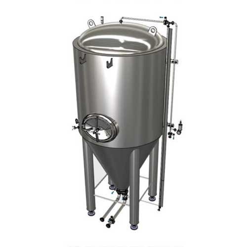Modularni cilindrično konusni spremnici za fermentaciju piva