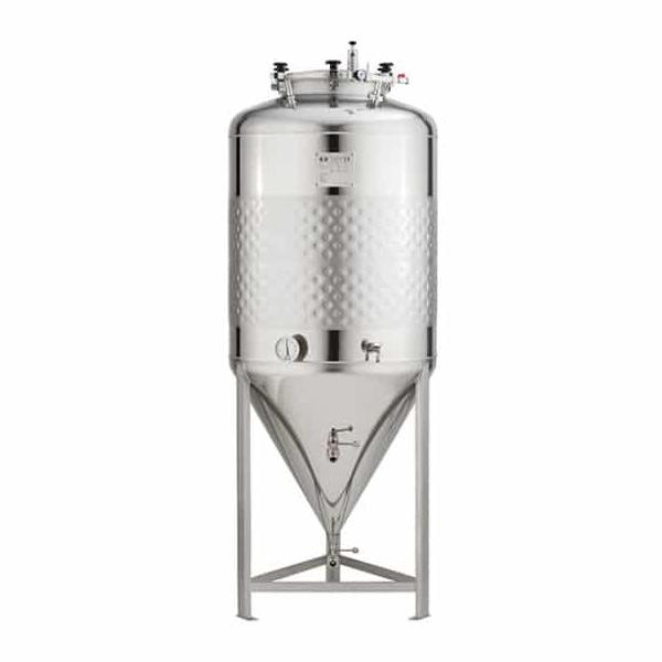 Pojednostavljeni cilindrično konusni spremnici 1.2 bar