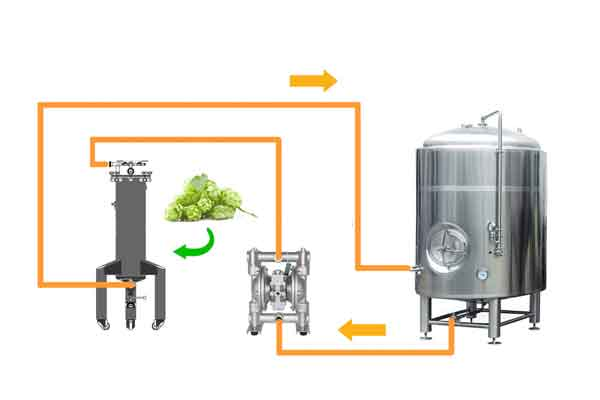 Beer - conditioning system