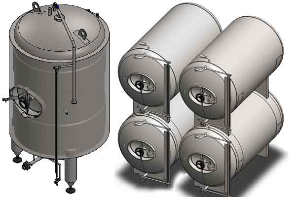 Cider | conditioning tanks
