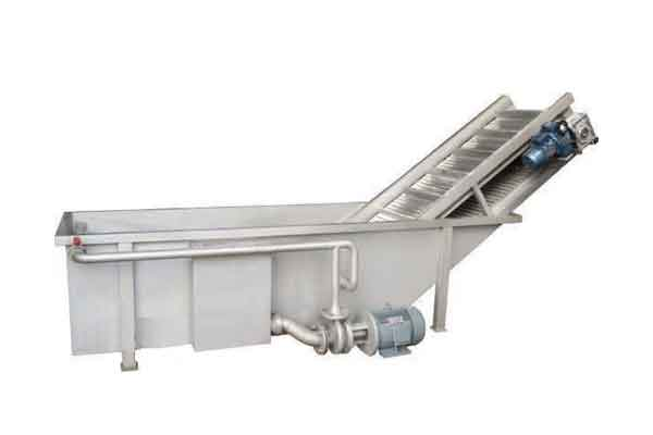 Fruit rinsing equipment