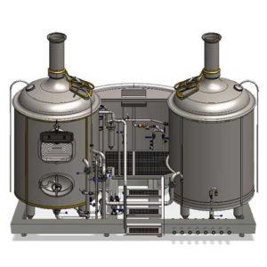 , Wort boiling machines Breworx Modulo