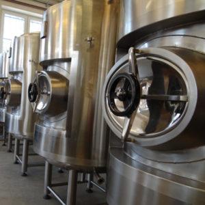 , Cider | Conditioning tanks
