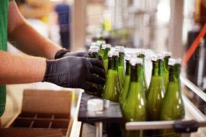 , Beer | Filling into glass bottles