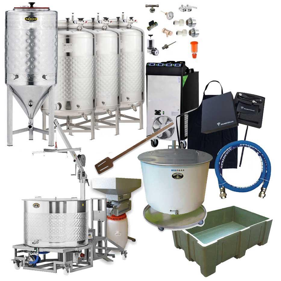 Pivovary BREWMASTER 500 s fermentory 500 L