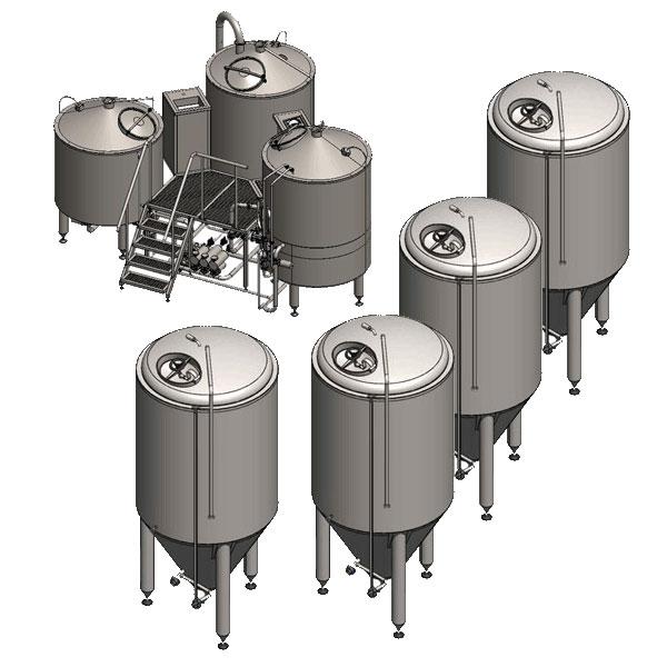 Компактни пивоварни 1000