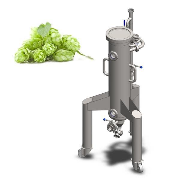 Hops extractors