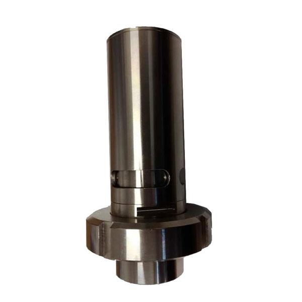 Overpressure and underpressure safety valves