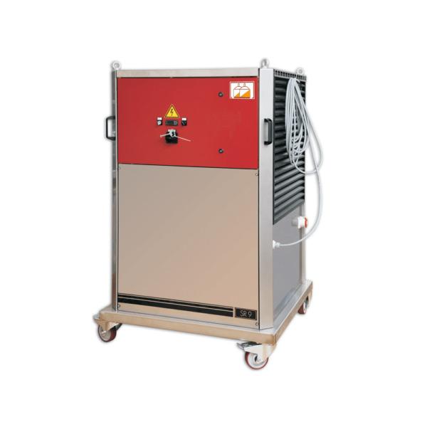 Compacte doorstroom mostverwarmers