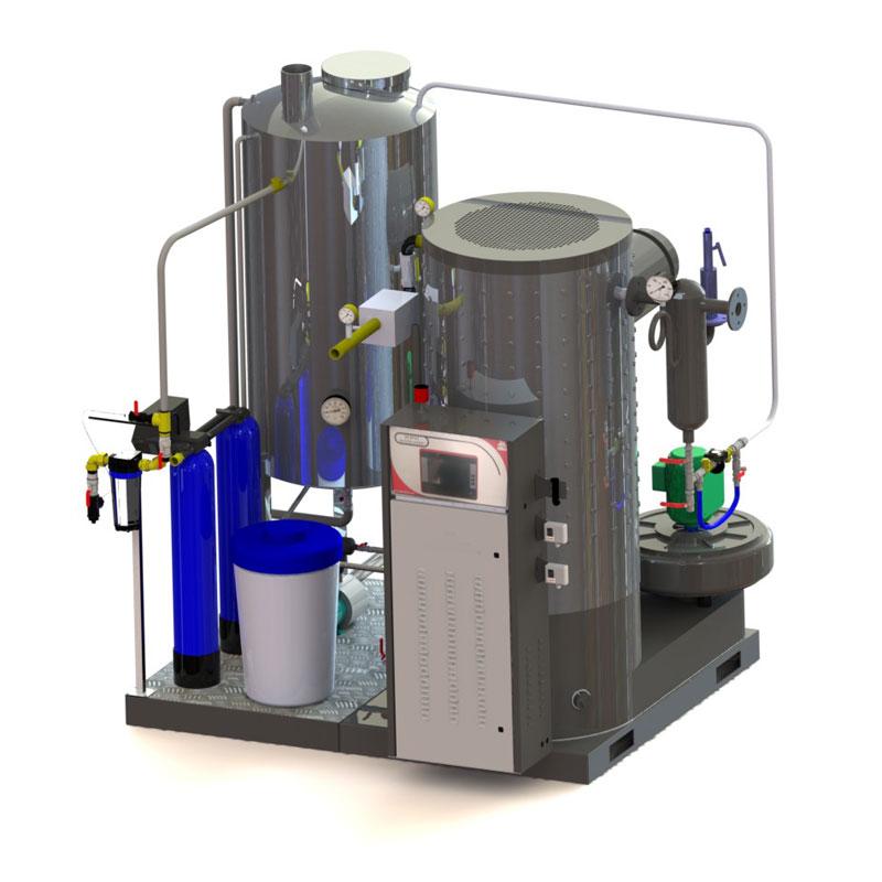 Gas steam generators
