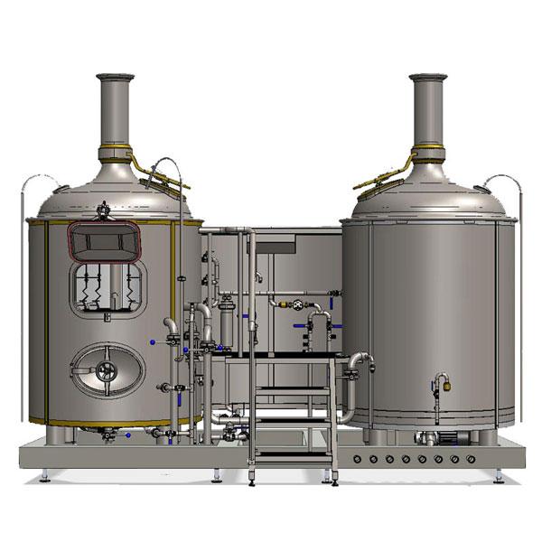 Mesin pembuat wort Breworx Modulo