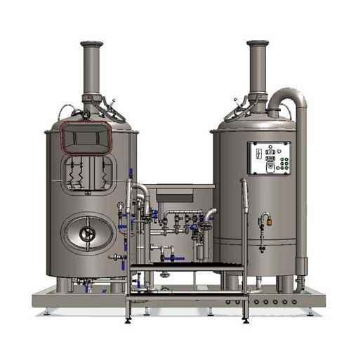 Wort boiling machine MODULO CLASSIC 250