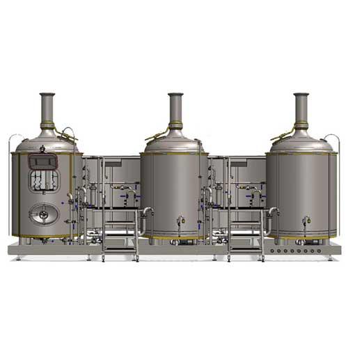 Wort boiling machine  MODULO CLASSIC 3T-500