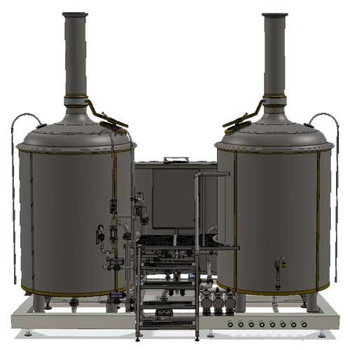 Wort boiling machine MODULO LITE-ME 1000