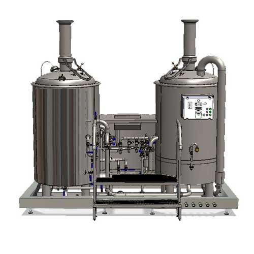 Wort boiling machine MODULO LITE-ME 250