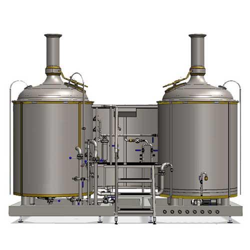Wort boiling machine MODULO LITE-ME 500